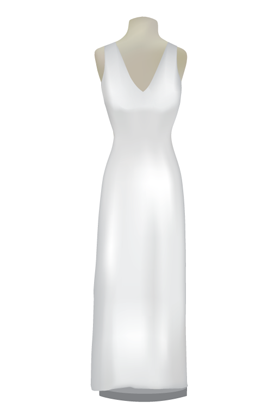Column/Sheath Wedding Gown